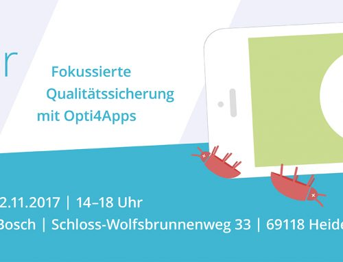 22.11.2017 // Opti4Apps Day in Heidelberg